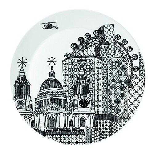 Royal Doulton Charlene Mullen Large Platter 126-Inch London City Scape