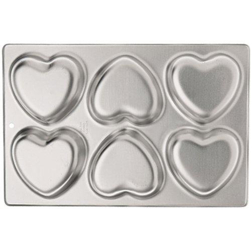 Wilton 6-Cavity Mini Heart Pan