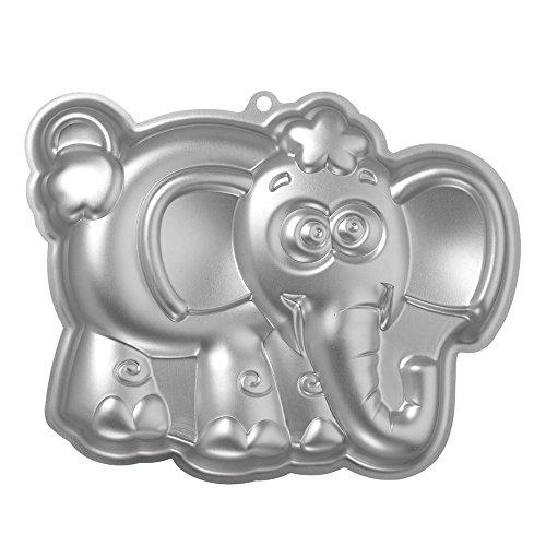 TOOGOOR Aluminum elephant shaped cake mold