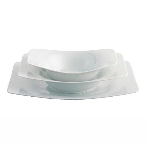 Dinnerware set Rosenthal Tatami white porcelain dinnerware set for 3