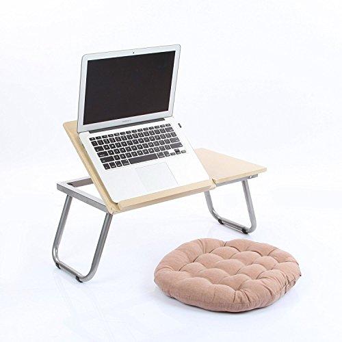 VECELO Portable Folding Laptop Desk ComputerNotebook Bed Tray