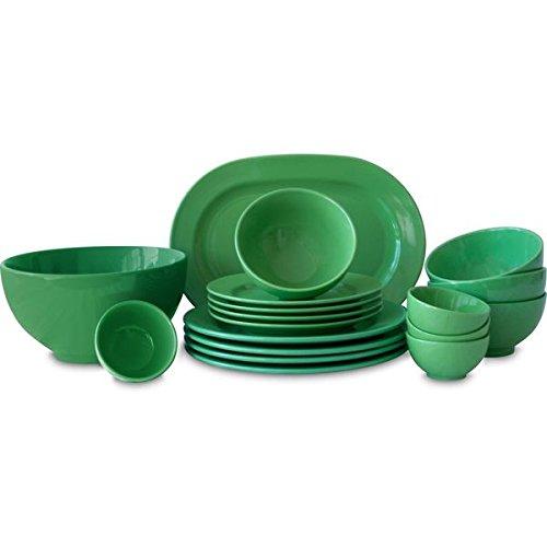 Konitz Waechtersbach Fun Factory Green 18-piece Dinnerware Set