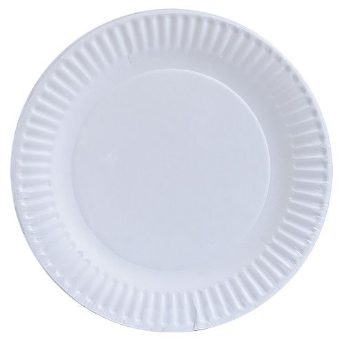 Nicole Home Collection 60 Count Everyday Dinnerware Paper Plate 9-Inch White