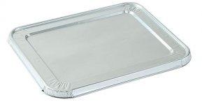FREEDco Aluminum 12 Size Lids Aluminum Foil Steam Table Lids For Multi-Purpose Pans 9 x 13 Size 12
