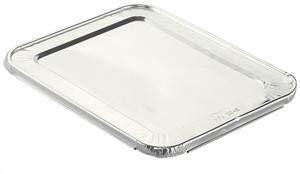 Handi-Foil Steam Table Pan Foil Lid Fits Half-Size Pan 12 15 X 10 716 X 25 100Carton