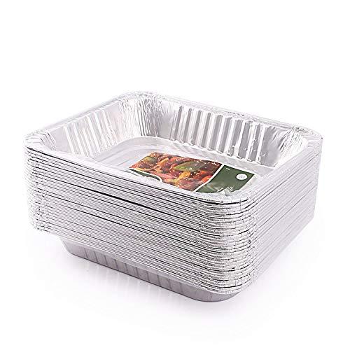 OKSLO Aluminum foil steam table pans 30 pack Model 13154-19051-12681-14686