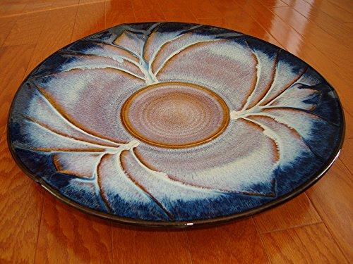 Bill Campbell Studios Pottery - 175 Traditional Glazed Porcelain Platter