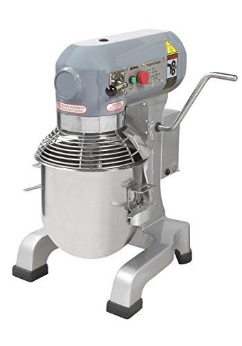 Heavy Duty gear driven commercial planetary mixer 10 quart 120V Adcraft PM-10