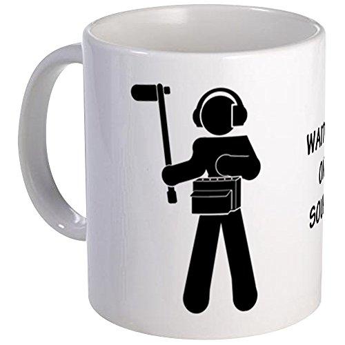 CafePress - Sound MixerQuotWaiting On Sound&Quot Mug - Unique Coffee Mug Coffee Cup