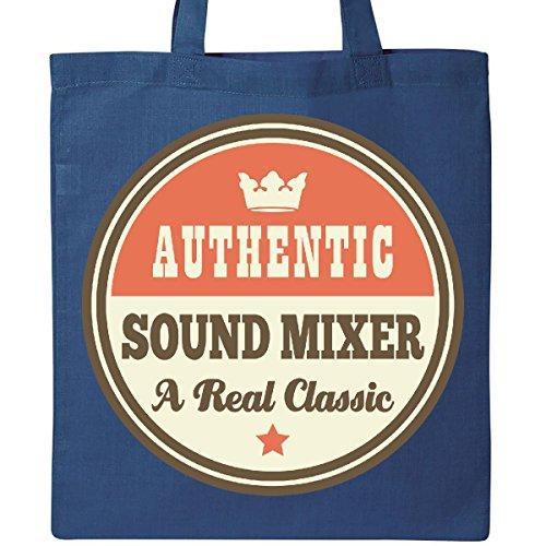 Inktastic Sound Mixer Vintage Classic Tote Bag Royal Blue