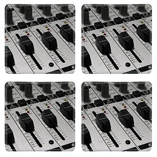 Liili Square Coasters Sound mixer Mixing board for audio recording Photo 719601