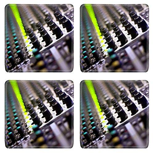 Liili Square Coasters sound mixer dj s equipment music style Photo 5080019