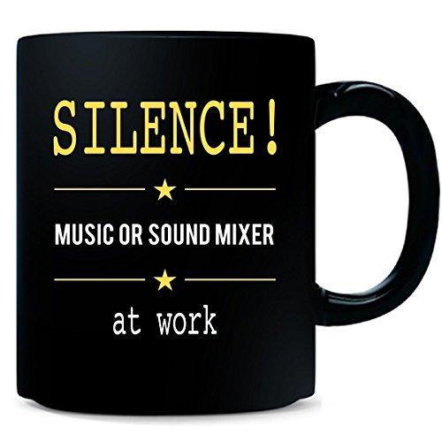 Silence Music Or Sound Mixer At Work - Mug