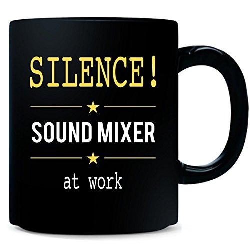 Silence Sound Mixer At Work - Mug