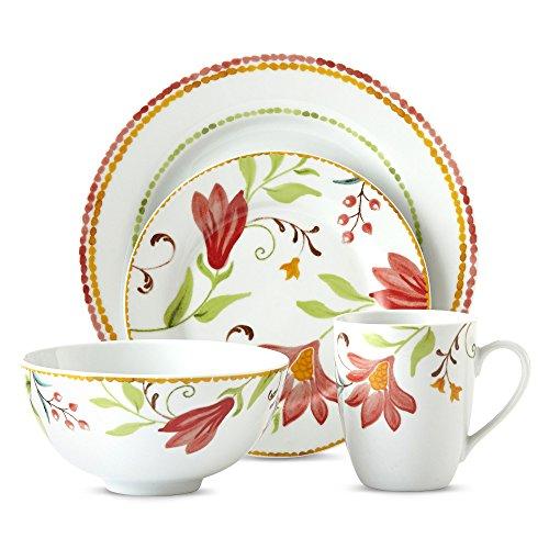 Oneida Italian Cypress 16-pc Floral Dinnerware Set