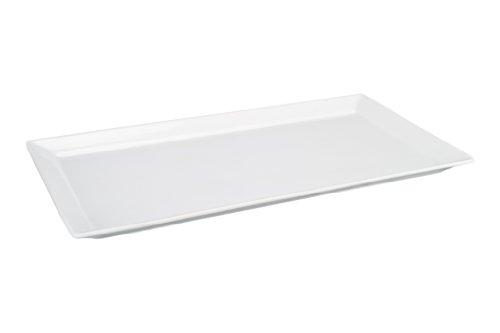 Bia Cordon Bleu 18-Inch Rectangular Platter White Porcelain