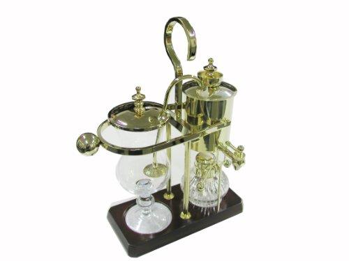 Royal Belgian Balancing Siphon Coffee Maker - Gold