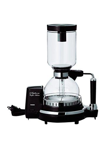 TWINBIRD siphon coffee maker CM-D854BR Brown
