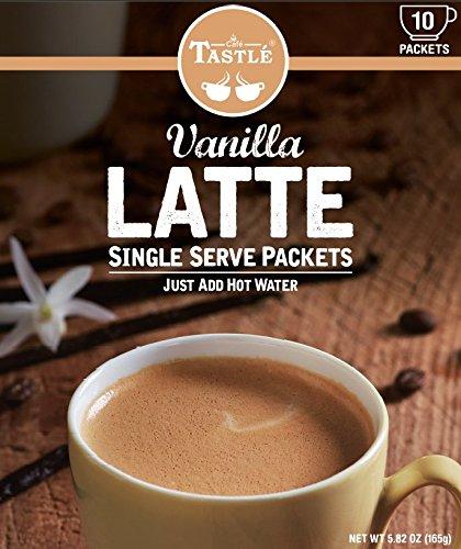 Cafe Tastlé Single Serve Vanilla Latte Coffee 10 Count