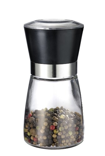 Westmark 63542260 Salt Mill Spice Mill and Pepper Grinder Stainless Steel with Glass Bottle