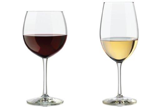 Libbey 12-piece Vineyard Reserve Wine Glass Set, Clear