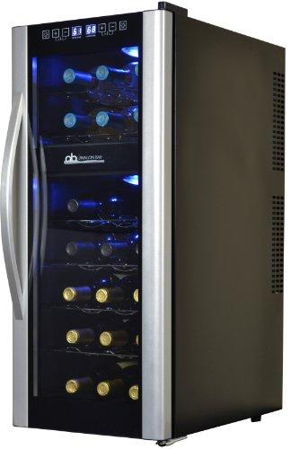 Avalon Bay AB-WINE21DS 21 Bottle Dual Zone Wine Cooler
