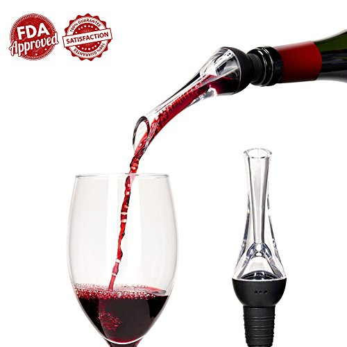 Updated Version Wine Aerator Pourer - Aerating Wine Pourer - Premium Wine Aerator Decanter - Premium Wine Aerator Spouts - Premium Wine Dispenser