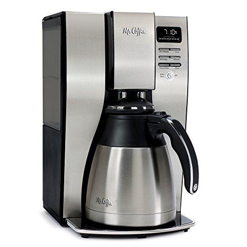 Mr Coffee 10-Cup Optimal Brew Thermal Coffee Maker Stainless Steel