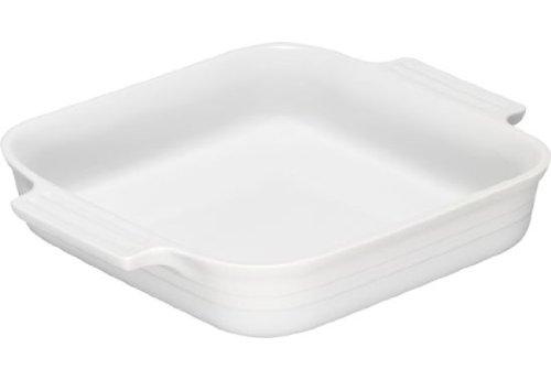 Le Creuset Stoneware 1-12-Quart 9-Inch Square Baking Dish White