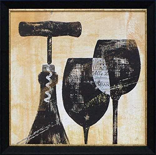 North American Art Wine Selection II Framed Art