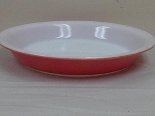 Vintage Pyrex Flamingo Pink Pie Plate 209