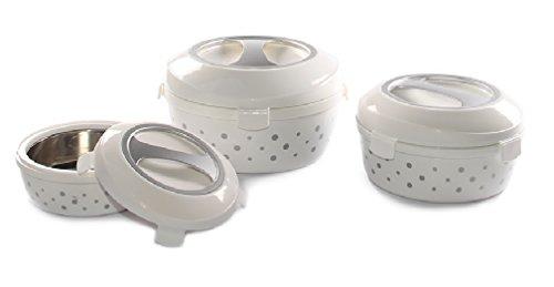 Cello TravelMate Casserole Insulated Hot Pot Food Warmer 3 Piece Set
