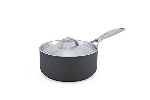 GreenPan Paris 3 Quart Non-Stick Dishwasher Safe Ceramic Covered Sauce Pan