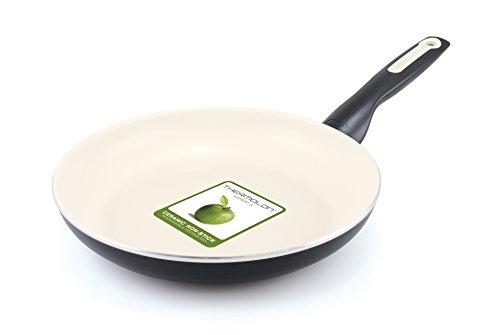 GreenPan Rio 10 Inch Ceramic Non-Stick Fry Pan Black