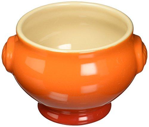 Le Creuset Heritage Stoneware Soup Bowl 20-Ounce Flame