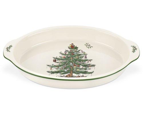 Spode Christmas Tree Au Gratin Dish