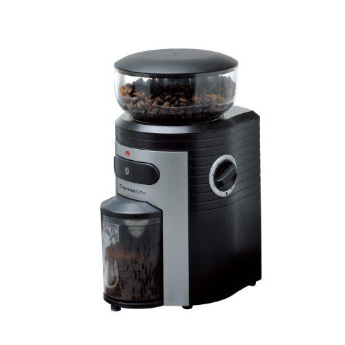 Espressione Professional Conical Burr Coffee Grinder BlackSilver