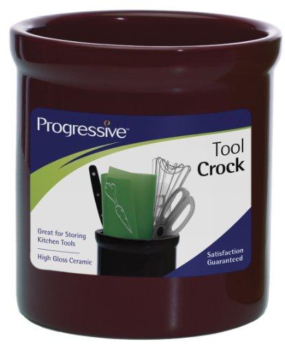 Prepworks by Progressive Ceramic Tool Crock - Black