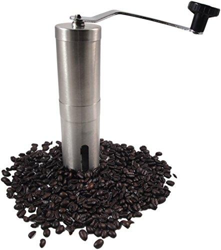 Turkish Ultra Fine Hand Coffee Grinder, Ceramic Grinder Burr Allows Proper Turkish Grind
