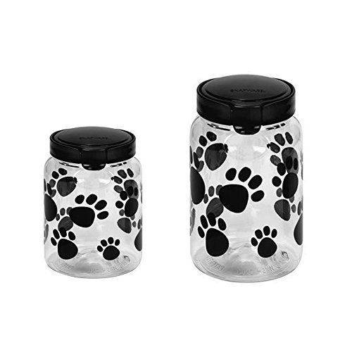 Snapware Airtight Food Storage 172-cup and 98-cup Pet Treat Canister Combo