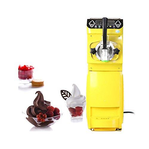 Commercial Soft Ice Cream Machine Maker Single Flavor Gelato Machine Smart Panel 18LH Output CEUL approval