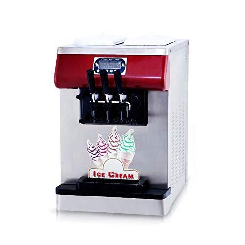 Ment to Door Tabletop 3 flavoe countertop 21 Mixed Flavor Soft Serve ice Cream Machine Yogurt Soft ice Cream Machine Gelato Soft ice Cream Maker