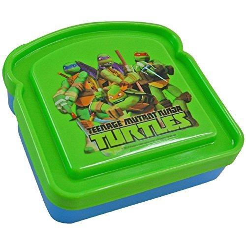 Teenage Mutant Ninja Turtle Sandwich Container Lunch Box