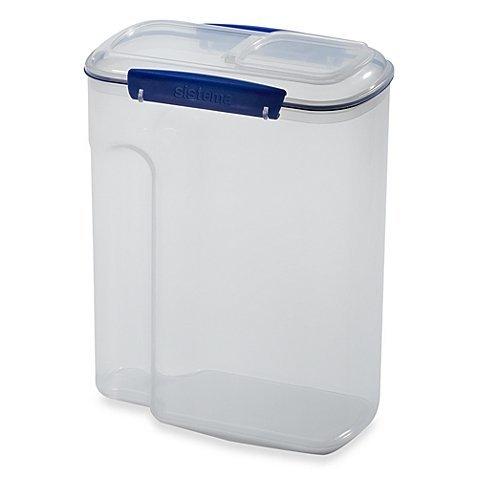Sistema KLIP IT 42-Liter Cereal Storage Container Easy Flip Lid