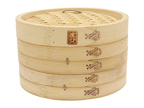 Joyce Chen 26-0013 3-Piece Bamboo Steamer 10