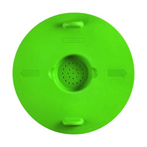 FARBERWARE 5253308 Pro Pop-N-Steam Veggie And Popcorn Steamer 10 inch Green