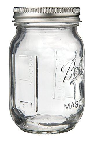 Ball 1440080100 Miniature Storage Jar Mini Jar 4 Oz Miniature Storage Jar 24 Jars