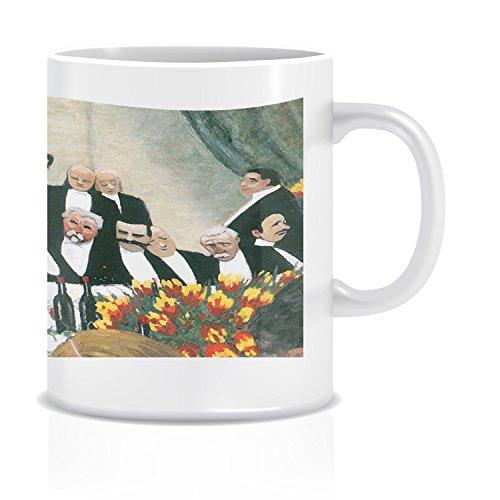 Toast Vallotton Coffee Tea White Ceramic Mug Cup 11oz