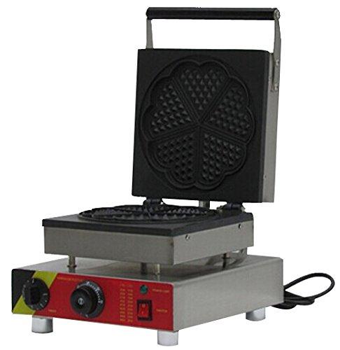 Generic Commercial Use Nonstick 110v 220v Electric Heart Waffle Baker