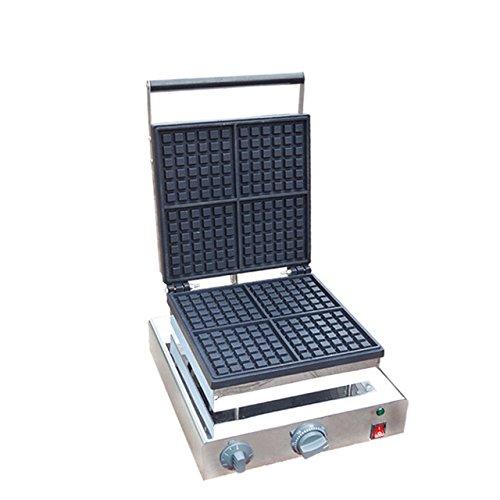 Hanchen Instrument 4pcs Commercial Electric Waffle Maker Making Machine Iron Baker FY-2206-2110V